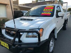 2009 Holden Colorado RC MY09 LX (4x4) White 5 Speed Manual Spacecab Waratah Newcastle Area Preview