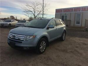 2008 FORD EDGE - AWD - LEATHER - LOW KM- VALID E TEST!!