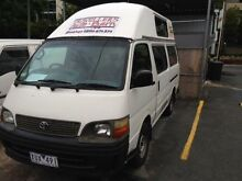 2005 Toyota Hiace COMMUTER RZH125R White 5 Speed Manual 3 BERTH CAMPERVAN Herston Brisbane North East Preview