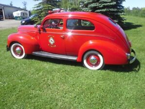 1939 Ford Fire Chief Car