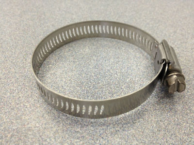 """10 Pc Stainless Steel Hose Clamps (Size #28, 1 1/4"""" to 2 1/4"""")"""