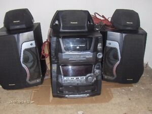 PANASONIC 50 +1 CD CHANGER WITH SURROUND SOUND
