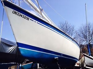 Sail Boat 1986 O'Day 272 with shallow draft (2'11'') great for