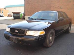 2011 Ford crown vic blk/blk ex police