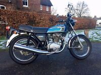 Honda CB250 G5 1976 (with CB360 engine)