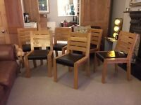 6 M&S Dining Chairs - used but good condition
