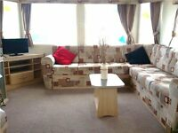 Static Caravan - Towyn North Wales. Double glazed & central heated. Indoor pool & facilities