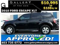 2010 Ford Escape XLT $109 bi-weekly APPLY TODAY DRIVE TODAY