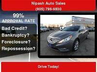 2012 Hyundai Sonata, LEATHER, P/T WRNTY AVBL., FINANCING AVBL.
