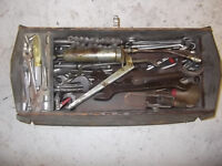 Metal Tool Box full of tools and spanners, all sorts, Metric, AF, Whitworth, some good tools here.