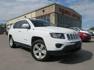 2015 Jeep Compass 4X4 HIGH ALTITUDE, LEATHER, ROOF, 17K!