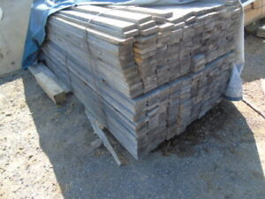 1x4 inch 8 foot  boards lumber $1.50 per board mostly clear