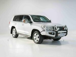 2009 Toyota Landcruiser VDJ200R MY10 VX Silver 6 Speed Sports Automatic Wagon Cooee Burnie Area Preview