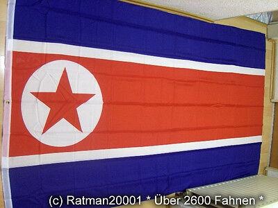 Fahnen Flagge Nord Korea Nordkorea - 2 - 150 x 250 cm