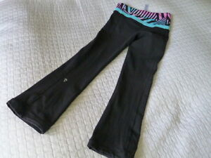 Youth Girls Size 10 Ivivva Lululemon Full Length Pants