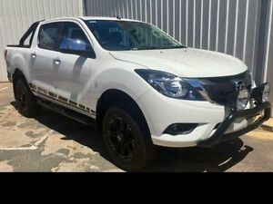 2016 Mazda BT-50 Cool White Automatic Dual Cab Pick-up Geraldton Geraldton City Preview