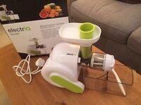 Juicer for sale - ElectriQ HSL600 Slow Masticating Cold Press Juicer
