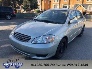 2004 Toyota Corolla 2 sets of tires! 1 owner!