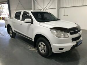 2015 Holden Colorado RG MY15 LS (4x4) White 6 Speed Automatic Crew Cab Pickup Beresfield Newcastle Area Preview