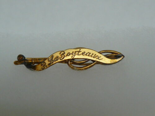DAR Ancestor Bar-Previously Owned-Gold Filled-P LaBoyteaux