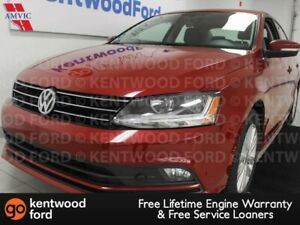 2017 Volkswagen Jetta Sedan Wolfsburg Edition- sunroof, heated p