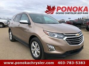 2018 Chevrolet Equinox Premier, Accident Free! Backup Camera!