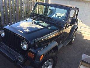 1997 Jeep TJ SPORT - LOW KM'S!!!
