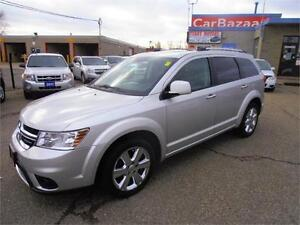 2011 DODGE JOURNEY RT ALL WHEEL LEATHER SUNROOF EASY CAR FINANCE