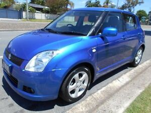 2006 Suzuki Swift RS415 Z Series Blue 5 Speed Manual Hatchback Slacks Creek Logan Area Preview
