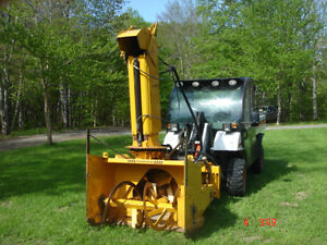 """REDUCED"" 2006 Benco BSN 50 Industrial Sidewalk Snowblower"