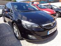 Vauxhall Astra 1.7 CDTi ecoFLEX 16v SRi 5dr (start/stop) Good / Bad Credit Car Finance (black) 2011