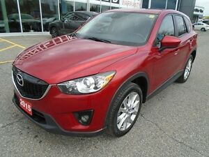 2015 Mazda CX-5 **NAV, HID LIGHTS & LEATHER!** LOADED GT TECH AW
