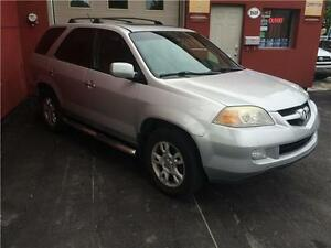 2004 Acura MDX 4X4/Toit Ouvrant/Cuir/8 Pneus/7 PASSAAGERS....