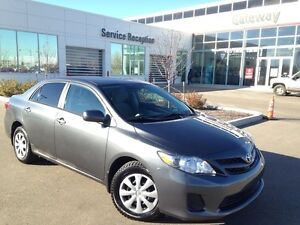 2013 Toyota Corolla CE Convenience Package- Only 42 K! Bluetooth