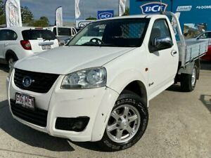 2011 Great Wall V240 K2 4x2 White 5 Speed Manual Cab Chassis Greenslopes Brisbane South West Preview