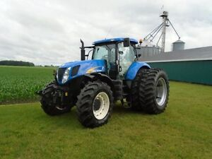 New Holland T7040 Tractor, 180HP,TLS,50 Kph,4890 Hours !!