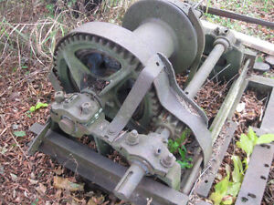 blacksmith tools ,winchargers , manual drum winch wanted
