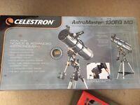 Celestron Astromaster 130EQ (motor drive) telescope