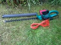 Bosch 7000 Pro-T Electric Hedge cutter, Excellent Condition and Powerful with long cable