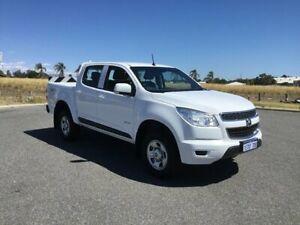 2012 Holden Colorado RG LT (4x2) White 6 Speed Automatic Crew Cab Pickup