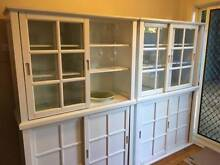 White Dressers: Perfect for dining room & storage Lane Cove Lane Cove Area Preview