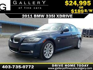 2011 BMW 335i xDrive $189 bi-weekly APPLY NOW DRIVE NOW