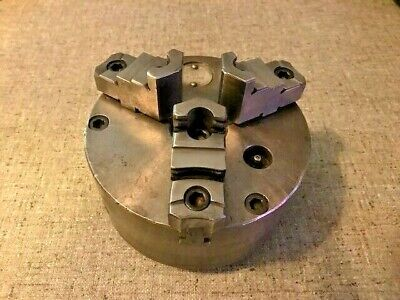 Cushman 6-14 3-jaw Chuck 6-236b 2-piece Jaws 2-14 8 South Bend Clausing
