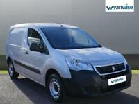 2017 Peugeot Partner 850 SE 1.6 BlueHDi 100 Van [non Start Stop] Diesel silver M
