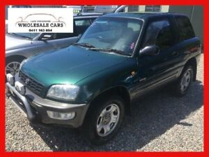 1997 Toyota RAV4 Green Manual Hardtop