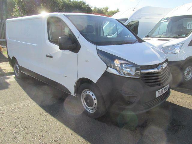 Vauxhall Vivaro 2900 1.6Cdti 115Ps L2 H1 Van DIESEL MANUAL WHITE (2015)