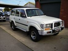 1996 Toyota Landcruiser GXL (4x4) GXL (4x4) White 4 Speed Automatic 4x4 Wagon Holden Hill Tea Tree Gully Area Preview
