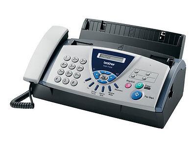 Brother Fax-T104 Faxgerät s/w A4 Thermotransferdruck Kopierer Telefon 9600b