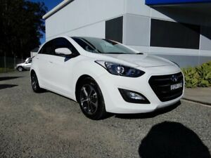 2015 Hyundai i30 GD3 Series II MY16 Active X White 6 Speed Sports Automatic Hatchback Glendale Lake Macquarie Area Preview