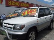 2000 Mitsubishi Pajero IO QA MY2001 White 5 Speed Manual Wagon Underwood Logan Area Preview